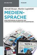 Mediensprache