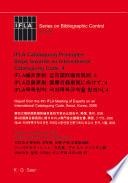 IFLA Cataloguing Principles: Steps towards an International Cataloguing Code, 4
