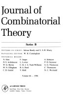Journal of combinatorial theory