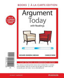 Argument Today with Readings  Books a la Carte Edition