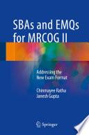 SBAs and EMQs for MRCOG II