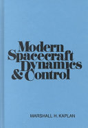 Modern spacecraft dynamics   control