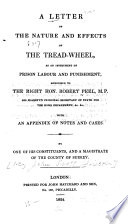 A Letter on the Nature and Effects of the Tread-wheel