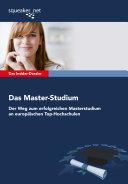 Das Insider-Dossier: Das Master-Studium
