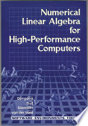Numerical Linear Algebra for High performance Computers