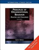 Principles of Organizational Behavior