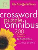The New York Times Crossword Puzzle Omnibus Volume 16