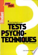 S entra  ner aux tests psychotechniques