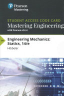 Masteringengineering With Pearson Etext Standalone Access Card For Engineering Mechanics