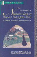 An Anthology of Nineteenth century Women s Poetry from Spain