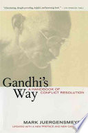 Ebook Gandhi's Way Epub Mark Juergensmeyer Apps Read Mobile