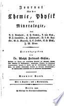 Journal für die Chemie, Physik und Mineralogie
