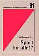 Sport für alle!?