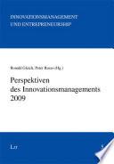 Perspektiven des Innovationsmanagements 2009