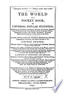 The World in a Pocket Book  Or Universal Popular Statistics  Etc   Second Edition