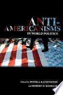 Anti Americanisms in World Politics