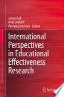 International Perspectives In Educational Effectiveness Research