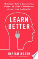 Learn Better Book PDF