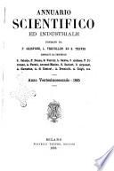 Annuario scientifico e industriale direttore Augusto Righi