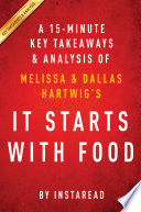 It Starts With Food  by Melissa and Dallas Hartwig   A 15 minute Key Takeaways   Analysis