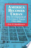 America Becomes Urban book