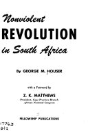 Nonviolent Revolution in South Africa