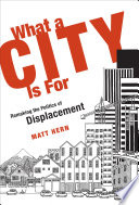 What a City Is For Book PDF
