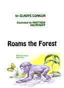 Chimpanzee Roams The Forest
