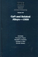 GaN and Related Alloys   1999