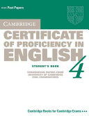 Cambridge Certificate of Proficiency in English 4 Student's Book