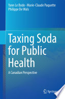 Taxing Soda for Public Health