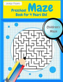 Preschool Maze Book for 4 Years Old