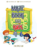 Maze Books for Kids 4-6