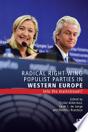 Radical Right Wing Populist Parties in Western Europe
