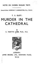 T  S  Eliot  Murder in the cathedral