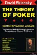 The Theory Of Poker Deutschsprachige Ausgabe