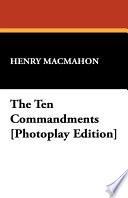 The Ten Commandments  Photoplay Edition
