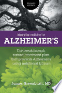 Integrative Medicine For Alzheimer S