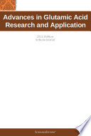 Advances in Glutamic Acid Research and Application  2011 Edition