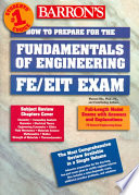 How to Prepare for the Fundamentals of Engineering  FE EIT Exam