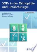 SOPs in der Orthopädie und Unfallchirurgie