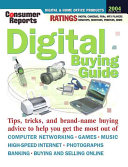 Consumer Reports Digital Buying Guide 2004