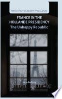 France in the Hollande Presidency