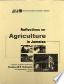 Reflections on agriculture in Jamaica