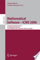 Mathematical Software   ICMS 2006