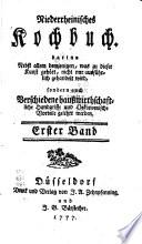 Niederrheinisches Kochbuch