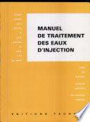 Manuel De Traitement Des Eaux D Injection