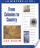 From Colonies to Country  1735 1791