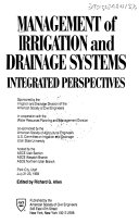 Management Of Irrigation And Drainage Systems book