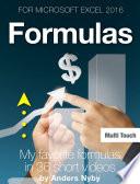Excel 2016 Tips     Formulas